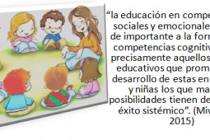 Competencias sociales y emocionales